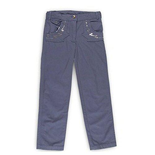 Miss Girly-Pantaloni Ragazza 3/8 anni FEVE- marina-8 anni