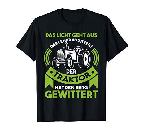 Traktor Landwirt Bauer Geschenk T-Shirt