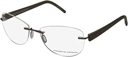97f81a8b670 Porsche Design Rx Eyeglasses Frames P8209 A S1 55x16 Light Brown Made in  Italy