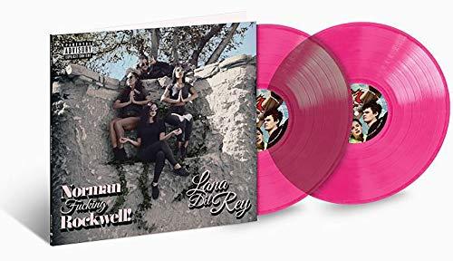 Lana Del Rey - Normal Fucking Rockwell 2XLP Pink Vinyl LP