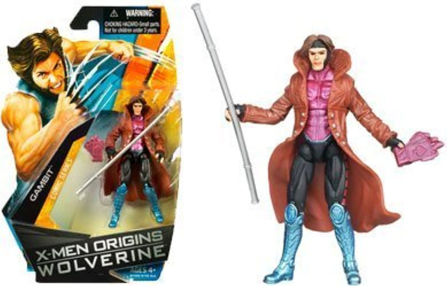 XMen Origins Wolverine Comic Series 3 3 4 Inch Action Figure Gambit by Wolverine