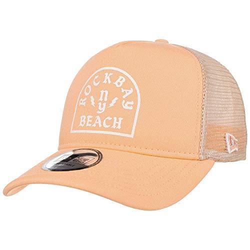 A NEW ERA Unisex-Erwachsene Rockbay Beach Trucker Ne Peawhi Kappe, Pastell-Orange, Einheitsgröße