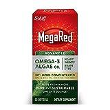 Omega-3 Advanced Algae Oil 600mg, MegaRed Softgels (50 Count in A Bottle), Omega-3's for Heart, Joints, Brain & Eye Health*, EPA, DHA, Algae Oil, Vegetarian