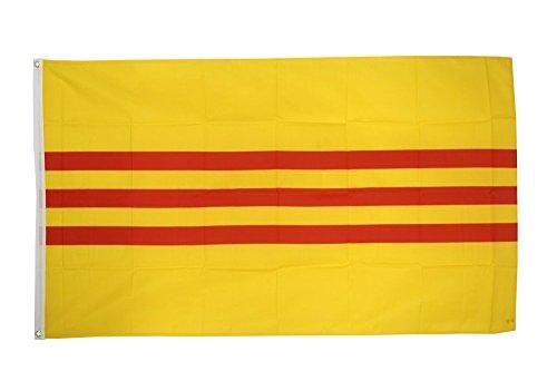 Flaggenfritze Fahne/Flagge Vietnam alt (Südvietnam) + gratis Sticker