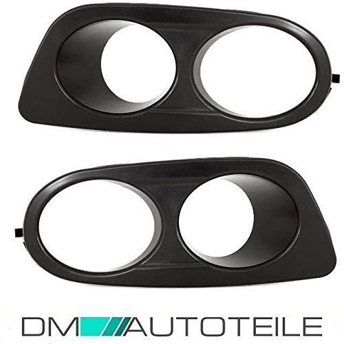 DM Autoteile Nebelscheinwerfer Blenden SET Schwarz passend für E46 M-Paket II Stoßstange