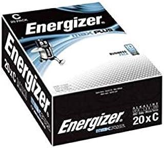 Energizer Max Plus C Alkaline Batterien 20 Stück Elektronik