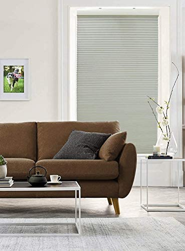 Radiance Cordless Cellular Shade 34 Inches Width x 72 Inches Length Light Gray product image