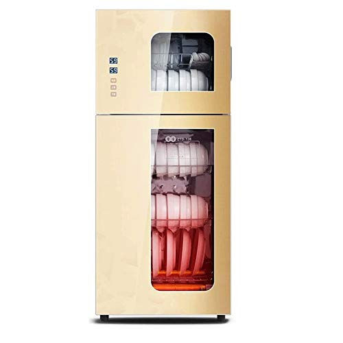 Champagne desinfectie kast grote capaciteitshuishoudens verticale keuken theekopje hoge temperatuur reiniging kast 218l