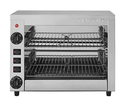 Milan Toast - Horno / bandeja 6 plazas multiusos 220-240 V