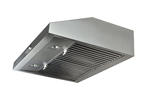 Blue Ocean 30' RH76UC Stainless Steel Under Cabinet Kitchen Range Hood | PRO PERFORMANCE | 3-Speed Exhaust Fan