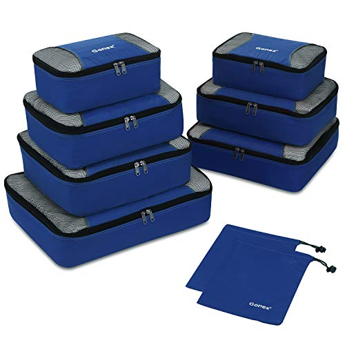 Gonex Travel Packing Cubes, Travel Luggage Organizers Set $19.01 (32% Off)
