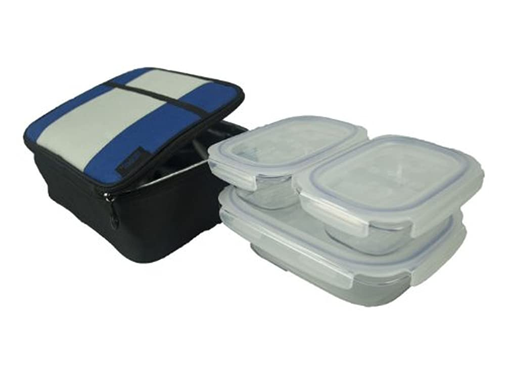 Lunch Case with KlokenTainers-blue