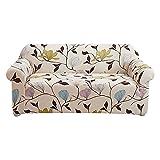 WXQY Juego de sofás elásticos de Estilo de línea Simple, sillón Todo Incluido, Funda de sofá de Esquina, Funda de sofá elástica Antideslizante, Funda de sofá A3, 3 plazas