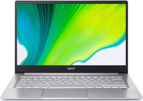 2020 Acer Swift 3 14' FHD IPS Ultra Light Laptop, AMD Ryzen 7 4700U Octa-Core Processor (Upto 4. 1GHz), Radeon Graphics, WiFi 6, Backlit Keyboard, Fingerprint Reader, Win 10 (8GB RAM|512GB PCIe SSD)