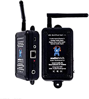 AudioFetch Express FETCH-EX audio to Smartphone Wireless Device