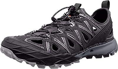 Merrell Women's J84750 Choprock Shandal Hiking Shoe, Black - 10 M