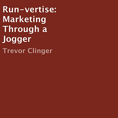 Run-vertise audiobook cover art