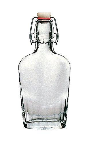 Bormioli Rocco Various Fiaschetta Bottiglia con la parte superiore delloscillazione 250ml, 1 pezzo