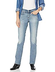 Signature by Levi Strauss & Co Women's Curvy Straight Jean