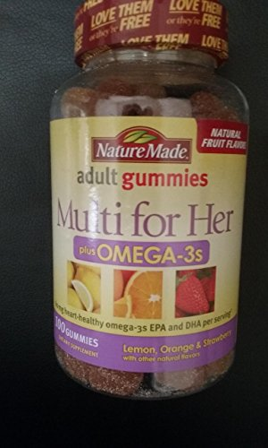 NATUREMADE Adult Gummies, Multi for HER 150 Gummies