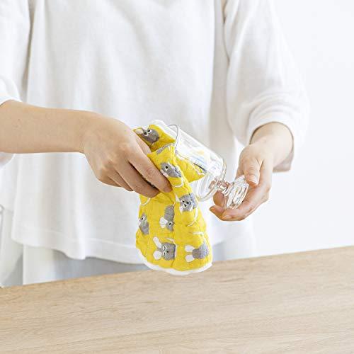スタイレム(Stylem)ふきんブルー・イエロー30cmレオ・レオニ蚊帳生地ふきんあおくんきいろちゃんLE1665