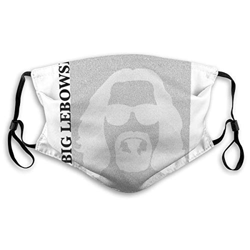 Face Decorations The Big Lebowski Film Script Silhouette Unisex MouthMuffle Face Scarf Boca Cover