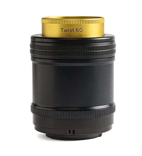 Lensbaby Twist 60 Sony E / Objektiv / ideal für verwirbelte und Vignette-Effekte / Brennweite 60 mm, Blende f/2,5 / kreative Unschärfe / Spezialobjektiv passend für Sony Systemkameras
