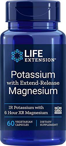 Life Extension El Potasio con Extend-Release Magnesio - 60 Vcaps 90 g