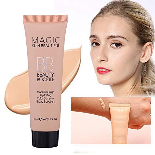 Base Líquida Hidratante, Corrector Iluminador, Control de Aceite BB Cream, Fundación de Maquillaje(01)