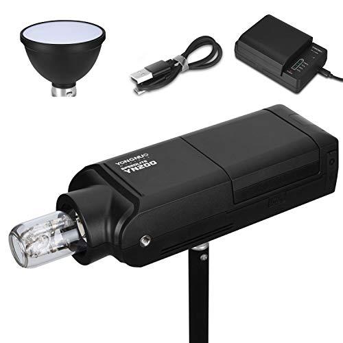 YONGNUO YN200 Wireless Flash Speedlite 200W TTL M Multi HSS 1/8000s 2.4G Pocket Flash Strobe Monolight + 2900mAh Lithium Battery + Bare Bulb + Lamp Holder