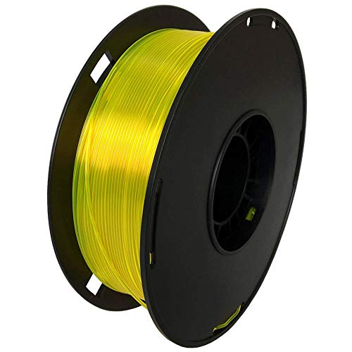 NOVAMAKER 3D Printer Filament - Yellow 1.75mm PETG Filament, PETG 1kg(2.2lbs), Dimensional Accuracy +/- 0.03mm