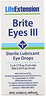 Life Extension Brite Eyes 2 Vials (5 Ml Each), Healthcare/Health Care