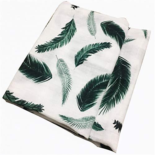 DFSDG Manta de algodón orgánico suave mantas de tela plana envuelta toalla bufanda suministros (color: estilo 3)