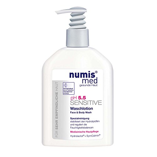 numis med 2er Vorteilspack ph 5.5 SENSITIVE Waschlotion Spender 2 x 200ml