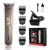 Surker SK-6007 - Cortapelos para hombre profesional, cortapelos eléctrico para barba, maquinilla de afeitar con 4 peines, potente motor, baterías recargables, para el cuidado de la barba y el cabello