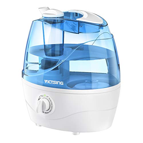 VicTsing Cool Mist Humidifier, Ultrasonic Humidifiers for Bedroom Baby, Premium Humidifying Unit...