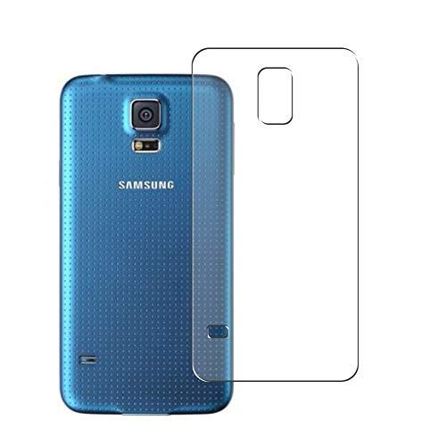 VacFun 2 Piezas Protector de pantalla Posterior, compatible con Samsung Galaxy S5 Prime, Película de Trasera de TPU
