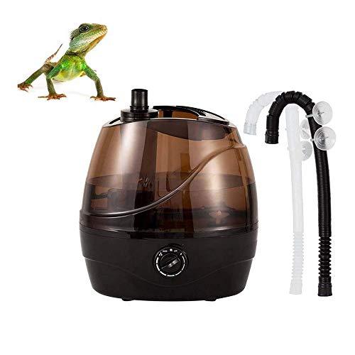 Reptile Luftbefeuchter 2.2L Kapazität Zerstäuber Kein Lärm kühlen Nebel, der Maschine Amphibien verwendet für Schildkröten Schlangen Eidechse Gecko Spinnen-Crawler
