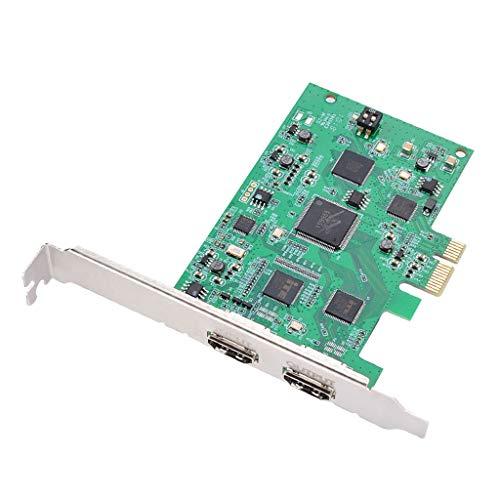 P Prettyia PCIe Aufnahme Karte HDMI HD 1080P 60 fps Video Record Grabber Game Live