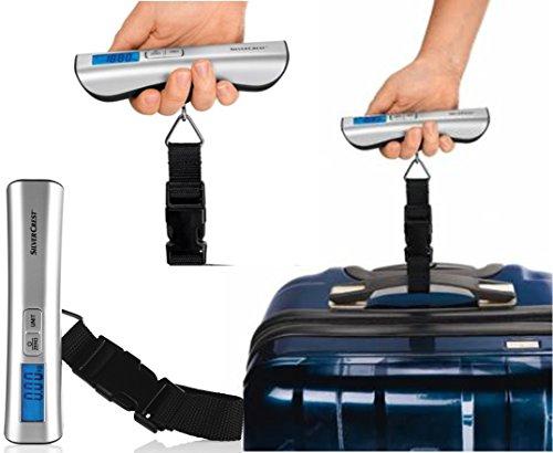 Digitale Kofferwaage zur präzisen Gewichtsmessung bei Reisegepäck