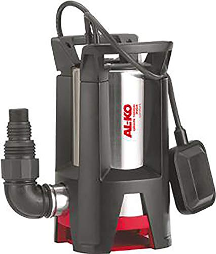 AL-KO Schmutzwassertauchpumpe Drain 10000 Inox Comfort, 750 W Motorleistung 10.000 l/h max. Fördermenge, 9 m max. Förderhöhe, 30 mm max. Korngröße