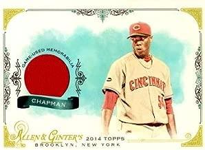 2014 Topps Allen & Ginter Relics #FSR-AC Aroldis Chapman Game Worn Jersey Baseball Card