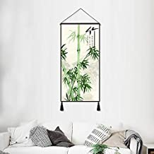 Simplicity Chinese art plant painting tapestry hotel decorative background wall hanging painting home decoration mural wal...