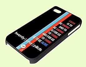 Car Radio Lyrics Twenty One Pilots for iPhone and samsung case (iphone_5/5s_black)