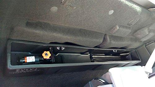 DU-HA Behind-the-Seat Storage Fits 15-19 Ford F-150 Regular Cab, Black, Part #20114