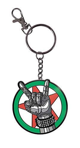 Dark Horse Comics- Dark Horse Cyberpunk 2077-Silverhand Keychain, 3006-709