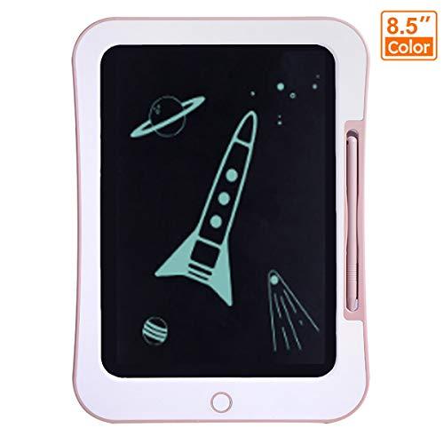 Wangchao Cartoon-kinder-LCD-schrijfblad, 8,5-inch-oogscherm, clear-functie, anti-Erase-blokkering, ingebouwde knoopcelbatterij, anti-Erasing-blokkering, kindergeschenk