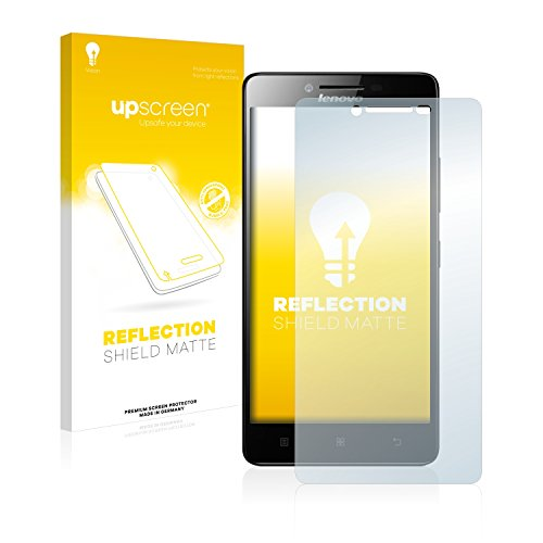 upscreen Entspiegelungs-Schutzfolie kompatibel mit Lenovo A6000 Plus – Anti-Reflex Bildschirmschutz-Folie Matt