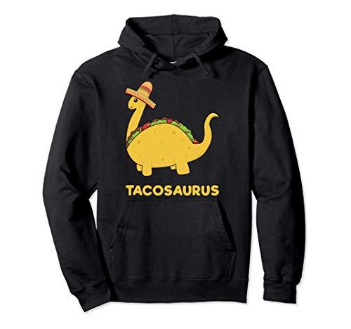 Cool & Funny Tacosaurus Taco Dinosaur Gift Tee Disfraz para Sudadera con Capucha