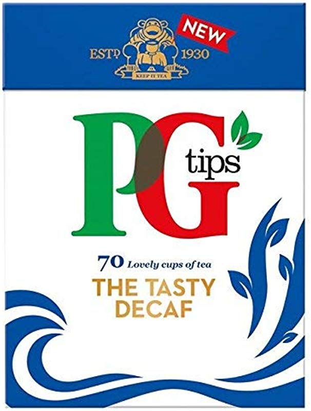 PG Tips Decaf 70 Ct Tea Bags 2 Pack